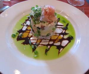 Fresh seafood as art