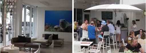 B Ocean lobby and pool bar