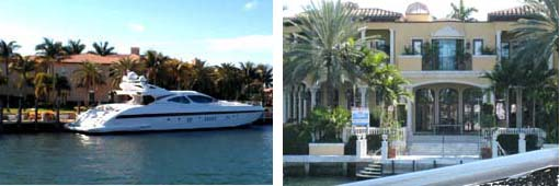 Intracoastal Stern house and boat and mystery house