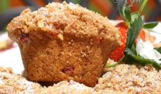 Yummy Breakfasts – Suzy's Yummy Rhubarb Muffins Recipe