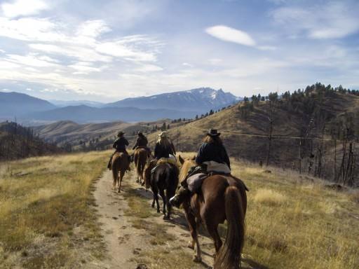 Amazing Scenery at Triple Creek Ranch