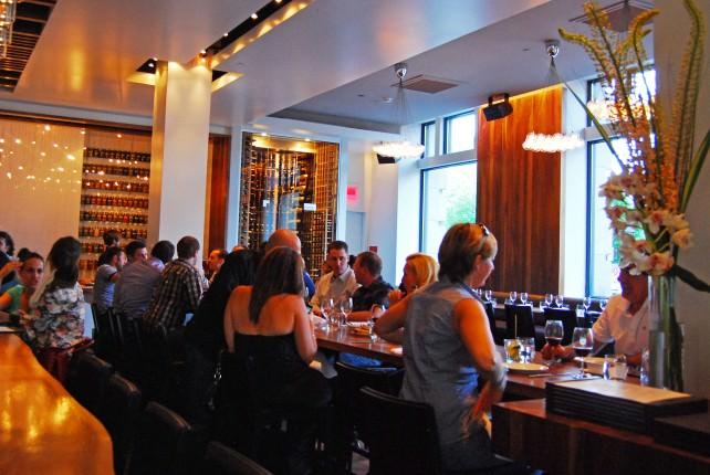 Dining at Hambar in Montreal