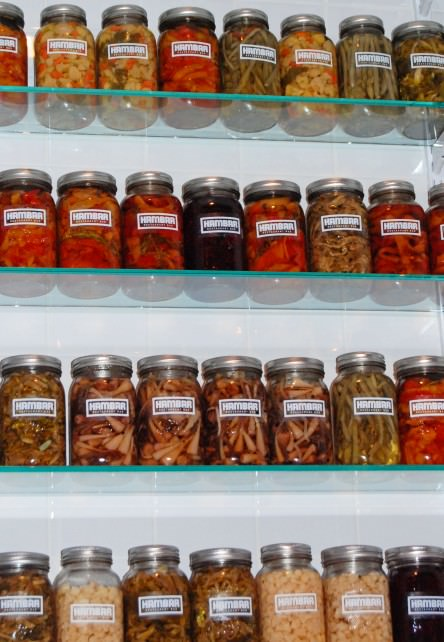 Pickled Vegetables at Hambar