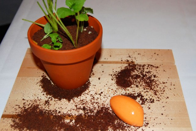 The Carrot Dessert at Laurie Raphael