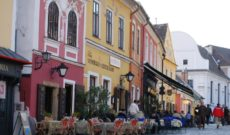 Shopping for Handicrafts and Souvenirs in Szentendre, Hungary