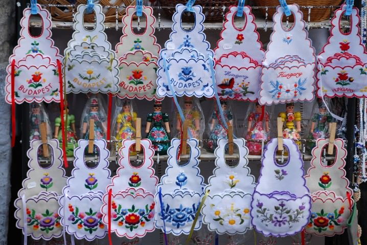 Shopping for Souvenirs in Szentendre, Hungary