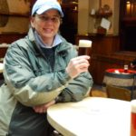 Jill Enjoys Altbier in Dusseldorf, Germany