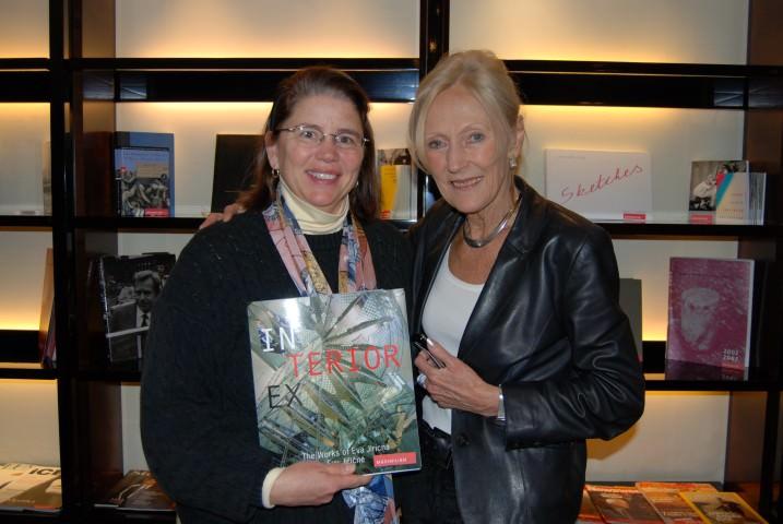 Jill with Hotel Maximilian Architect, Eva Jiricna