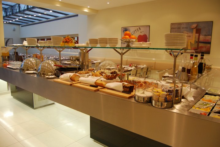 Breakfast Buffet at Hotel Maximilian Prague