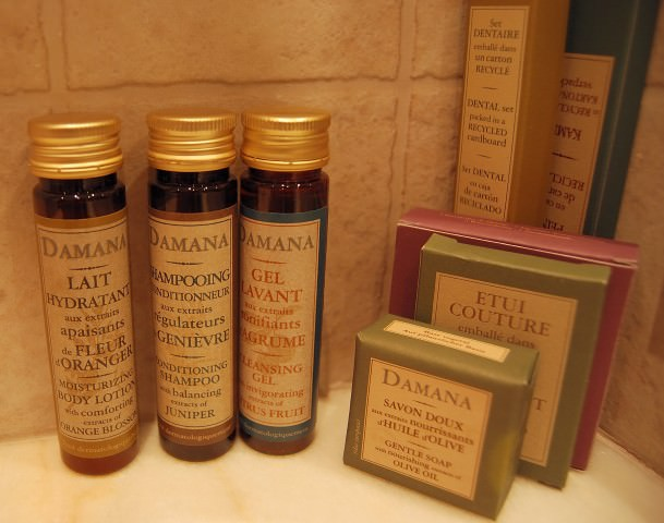 Toiletries by Damana