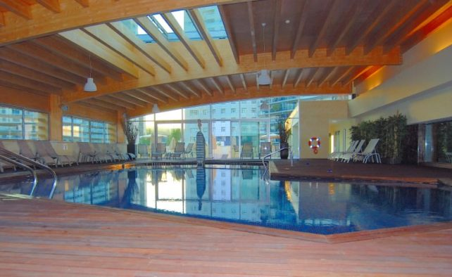 Indoor Pool at Corinthia Hotel Lisbon