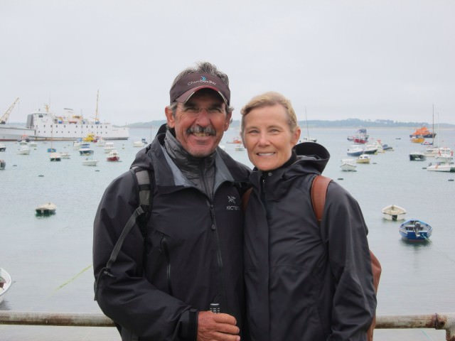 Ethel and her husband, Terry, Discover the Isles of Scilly