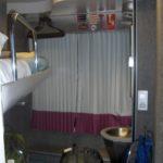 Cabin on overnight train from Granada to Barcelona