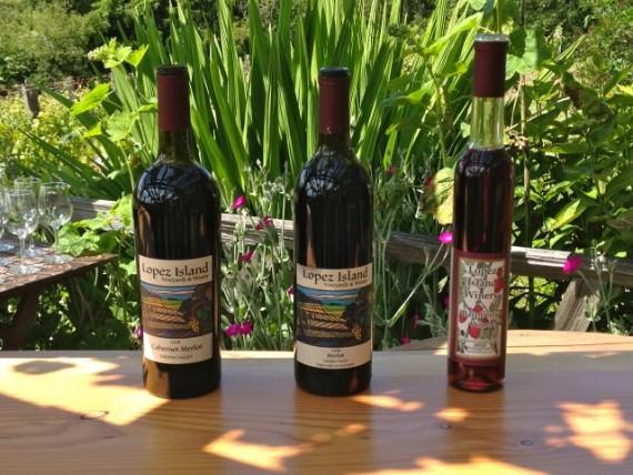 Schooner Zodiac Wine Cruise Visits Lopez Island Vineyards