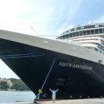 Holland America Line's Nieuw Amsterdam in Dubrovnik, Croatia