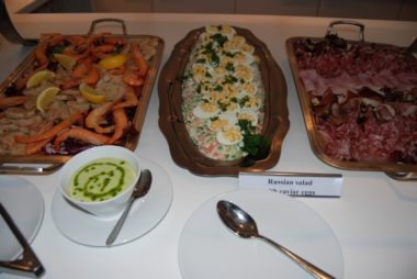Uniworld River Royale - Assorted Seafood Dishes