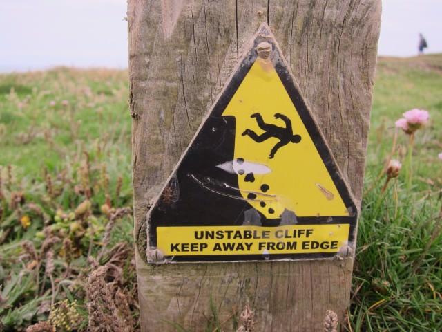 Unstable Cliff!
