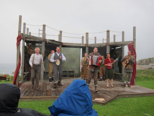 Hamlet by the Royal Shakespeare Company on the Cliffs of St. Ives