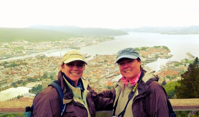 Jill and Viv Explore Bergen, Norway