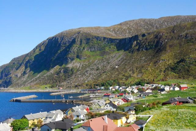 Village of Alnes on Godoya