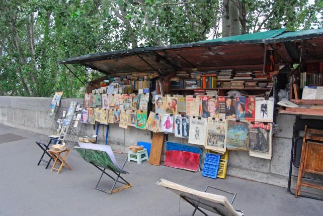 Along the River Seine near the Latin Quarter