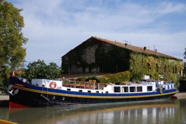 European Waterways Luxury Canal Barge Anjodi