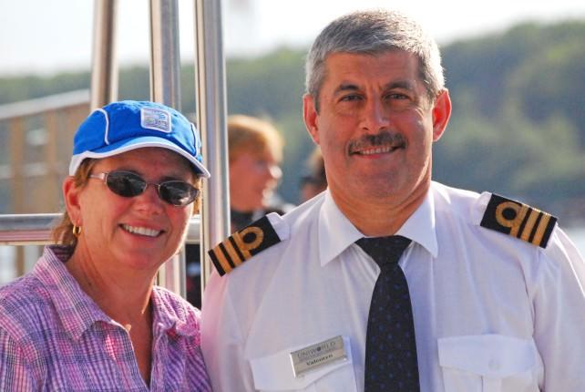 Belgrade - Jill and 2nd Captain Valentyn