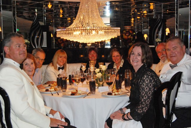 Uniworld River Princess Captain's Welcome Gala Dinner