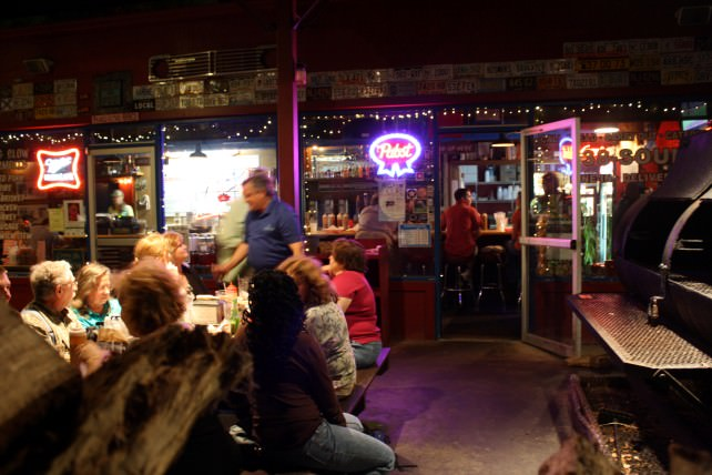 Crowd at Southern Soul Barbecue
