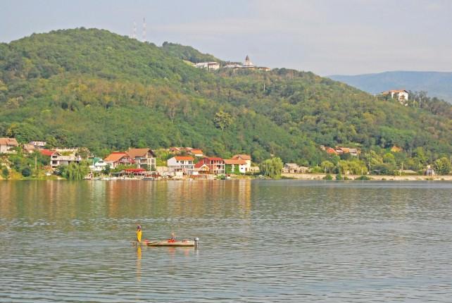 Cruising River Danube in Serbia