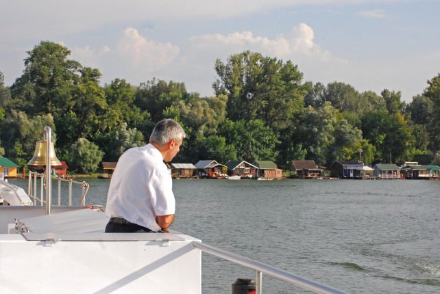 Cruising Sava River