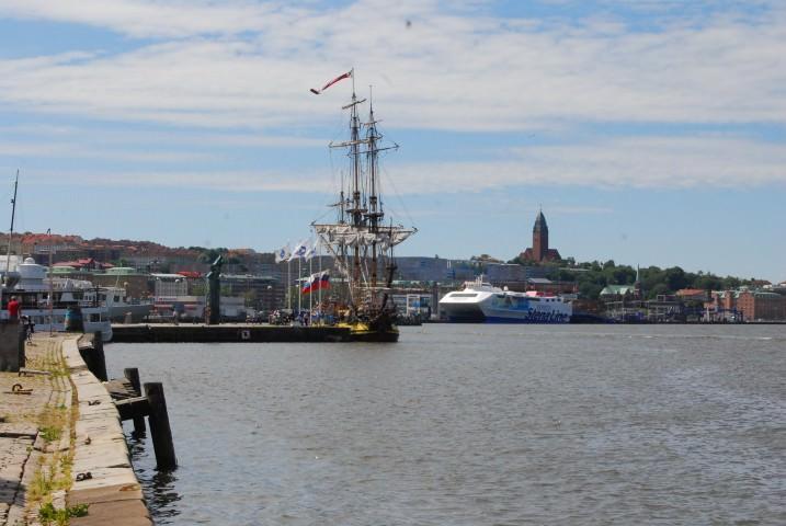 Stena Line Ferry in Gothenburg