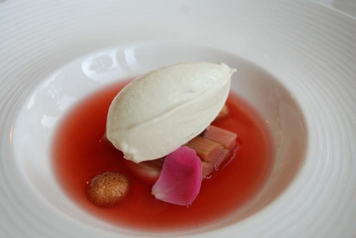 Dessert: Rhubarb Soup – A Trio of Rhubarb