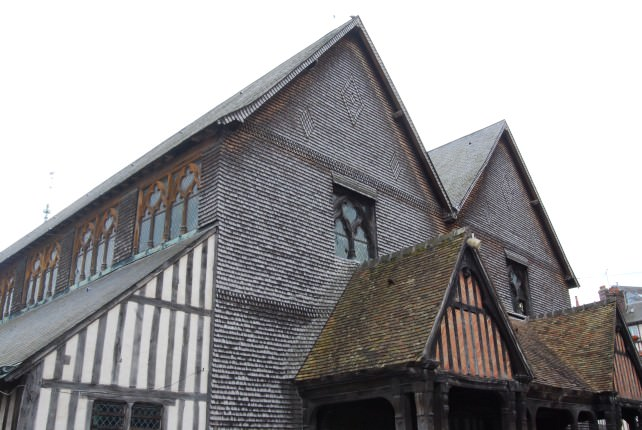 Saint-Catherine Church in Honfleur, Normandy