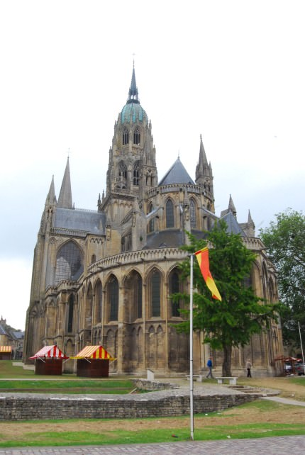Bayeux Cathedral is a Norman-Romanesque Cathedral