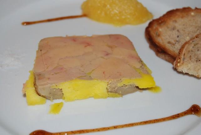 Bistrot de la Tranchee - Terrine de Foie Gras de Canard Starter