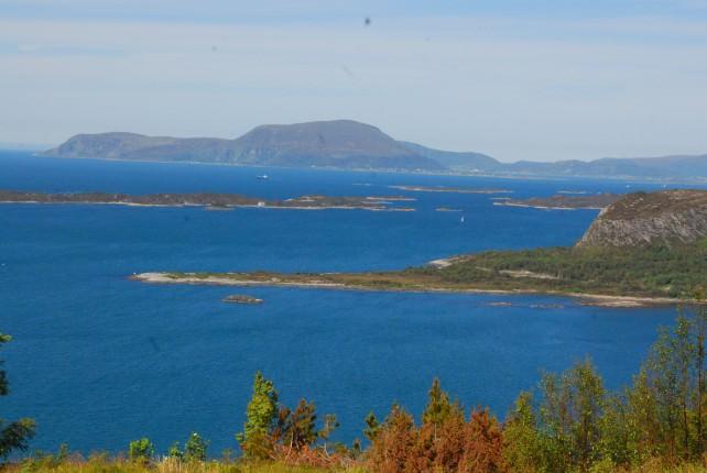 Amazing Scenery from Fjellstua Viewpoint on Mount Aksla