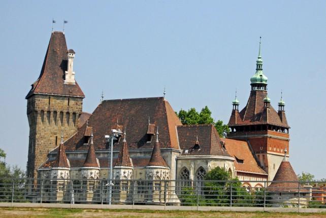 Dracula Castle - Vajadahunyad Castle