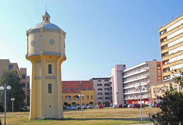 Franjo Tuđman Square in Vukovar