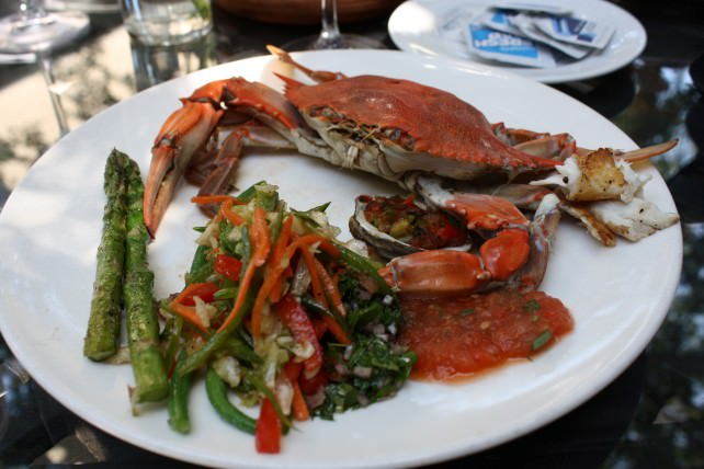 Halyards Seafood Plate
