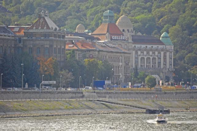 Hotel Gellert in Buda