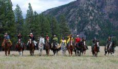 Triple Creek Ranch Klicks for Chicks Horseback Ride Part 2