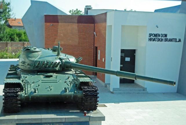 Military Tank in Vukovar