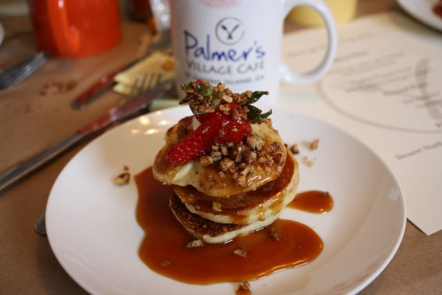 Breakfast at Palmer's Cafe, St. Simons Island, Georgia