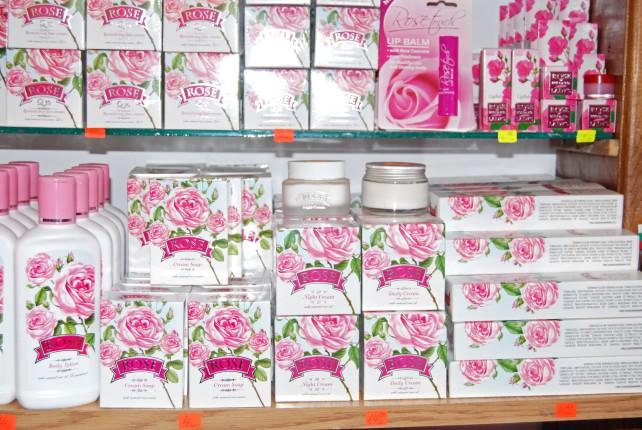 Rose Oil Products in Arbanassi