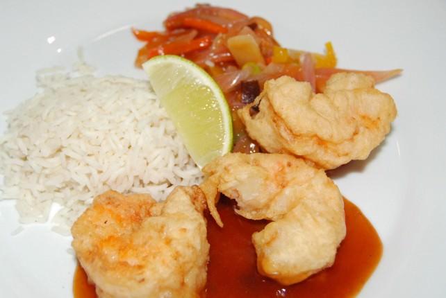 Tempura Fried Shrimps Entree