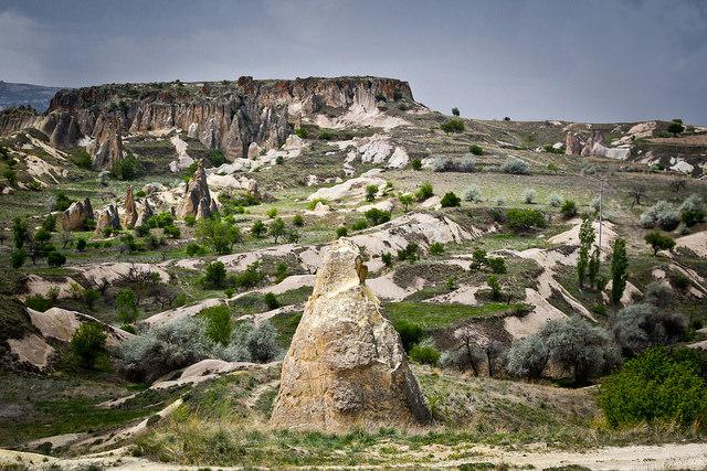 Landscape of Cappadocia, Turkey