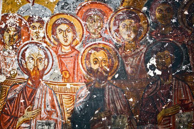 Frescos in Turkey
