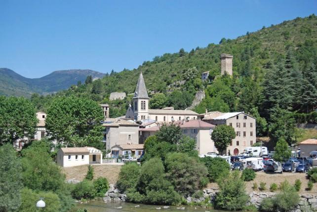 Castellane in the Alpes-de-Haute-Provence Department
