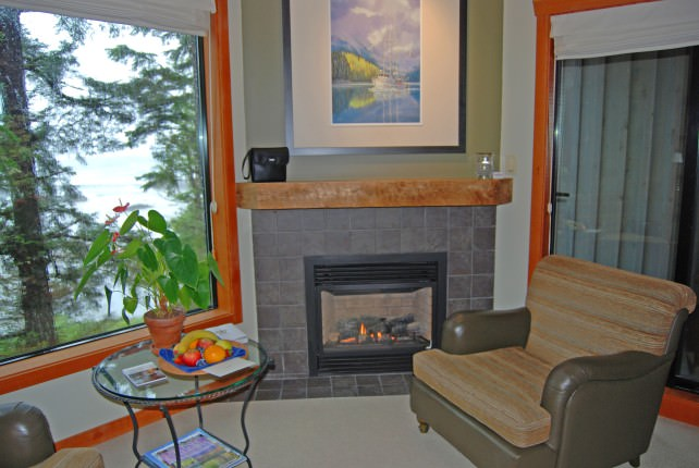 Wickaninnish Inn Beach Building Deluxe Guestroom